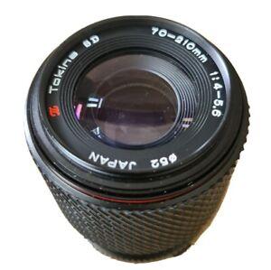 Olympus OM Mount Tokina SD 70-210mm f/4-5.6 Compact Macro Zoom Lens