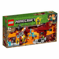 21154 LEGO Minecraft The Blaze Bridge Set with Alex Figure 372 Pieces Age 8+