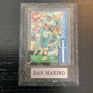 DAN MARINO #13 Mounted & Sealed NFL 1995 CARD PLAQUE-VERY RARE-GOOD CONDITION