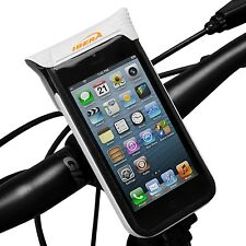 Ibera Bike Waterproof Handlebar Phone Case Cycling Bottle Cage Mount IB-PB11Q4-W