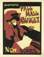Art Nouveau Print 'illlustrated Pall Mall'