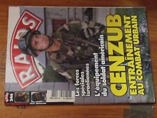 $$$ Revue Raids N°246 CENZUBFoprces speciales israeliennesSoldat US equipeme