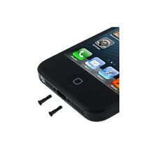 2 VITI PENTALOBO PER IPHONE 5 ricambio nere metallo accessori kit