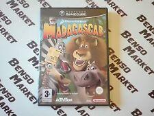 DREAMWORKS MADAGASCAR - NINTENDO GAMECUBE e WII PAL ITALIANO COMPLETO COME NUOVO