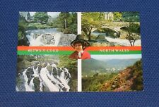 Denbighshire - Betws-Y-Coed North Wales - Old Postcard