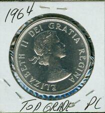 1964 CANADA SILVER DOLLAR HIGH GRADE PL