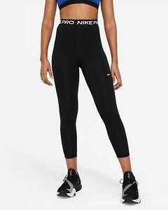 Nike Women's High Waisted Logo Waistband Leggings Black Grey Red Green -ALL SIZE