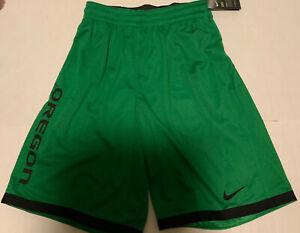 Oregon Ducks Nike Shorts Men's Green/Black Mesh Men's Size: Medium NWT