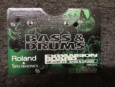 Roland SR-JV80-10 Bass & Drums Expansion Board ,CARD  ,//ARMENS