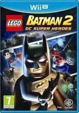 Wii u juego Lego Batman 2 II DC Super Heroes juego para Nintendo WiiU nuevo