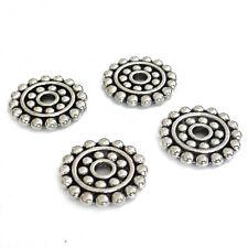 100 Metallperlen Scheiben 6,5mm kupferfarbig gewölbt Perlen nenad-design AN147