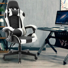 More details for racing gaming chairs office swivel  executive recliner pc computer desk chair uk