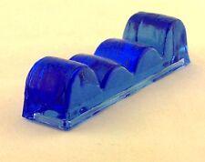 Messerbänkchen aus Glas in blau – AE 307