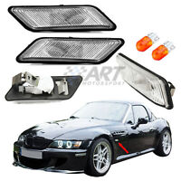 Intermitentes para Bmw Z3 acabado claro + bombillas side markers + bulbs