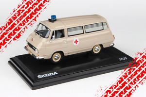 Skoda 1203 Ambulance médicale - transport de patients (1974) /Abrex /1:43