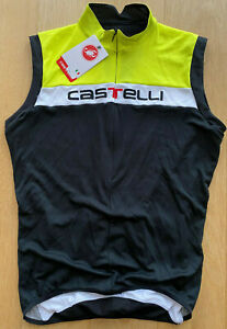Brand New Original CASTELLI PROSECCO Cycling Jersey/Vest XL