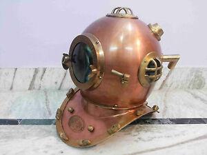 Diving Scuba Anchor Engineering Divers Helmet Sea Deep Ship Collectible Mark V