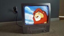 "Toshiba Color TV/VCR Combo 13"" Television #MV13P2 Fully Tested No Remote EUC"