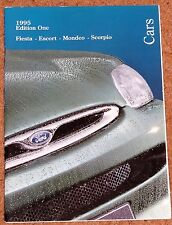 1995 FORD CARS Sales Brochure -Fiesta, Escort, Mondeo, Scorpio, 2.9i V6 Cosworth