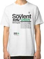 Unprocessed Soylent Green Men's White Tees Shirt Clothing