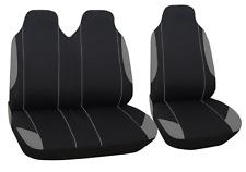 2+1 polyester neuf Housse de siège Gris pour Nissan Opel Peugeot Renault