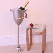 Boden Stehend Champagner Eimer Wein Kühler Nickel-beschichtet Hotelbar