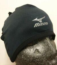 Mizuno Mens Running Hat Pip Cap Golf Black Skullcap Black Thermal 67BF950
