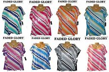 7b87e7b8f240c Faded Glory Plus Size Tops   Blouses for Women for sale
