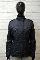 PEUTEREY Donna Taglia L Giubbino Giubbotto Giacca Impermeabile Blu Jacket Woman