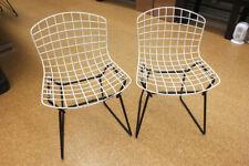 "Vintage Child's Bertoia Wire Chair Knoll PAIR - No Breaks! Kids Modern 12"" Base!"