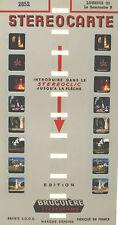 Stereocarte Bruguière n°2852 - Santuaire B - Lourdes (2) - 8 Vues - Stéréofilms