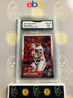 2015 Topps Update Bryce Harper #US397 All-Star Game 10 GEM MINT GMA Graded Card
