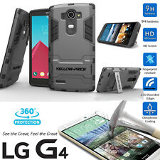 For LG G4 G5 Case&HTC ONE M9 Case-Dual Hybrid Shockproof Hard Armor Stand Cover