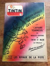 journal tintin 328 France (1955) couv Hergé TBE