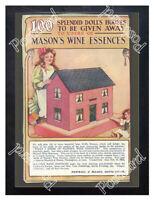 Historic Newball & Mason Wine Essence, 1890s. Advertising Postcard 2