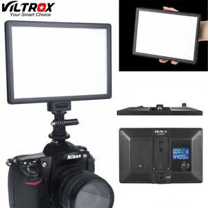 REGOLABILE STUDIO PRO LED Video Luce Pannello Per Canon Nikon Viltrox VL-200 CRI95