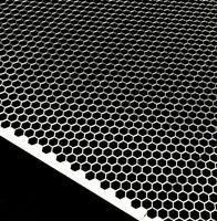 Lochblech 1000mm x Ihre Wunschbreite x 1,5mm Stahl Verzinkt QG10-15 Zuschnitt