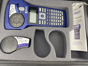 BRADY, BMP21 Handheld Label Printer With Hard case