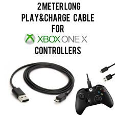 2M /6.5FT Charging Play+ Charge Cable Cord For XBOX ONE X Controller Pad Gamepad