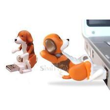 Portable Funny Cute Pet Dog USB Humping Spot Dog Toy Christmas Gift Gray