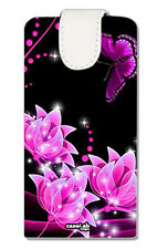 CUSTODIA FLIP COVER CASE FLOWER FARFALLA PER SAMSUNG GALAXY CORE PLUS G3500