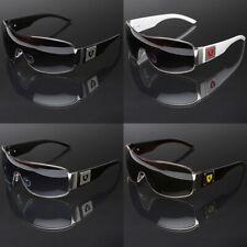 Big Oversized Men's Sport Pilot Shield Retro Sunglasses Large Wide Head Size