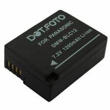 Batería para Panasonic DMW-BLC12DMC-G5//G6//G7//G70//G80//G81//G85//GH2//GX8