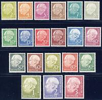 BUND 1954, MiNr. 177-196, 177-96, postfrisch, gepr. Schlegel, Mi. 300,-