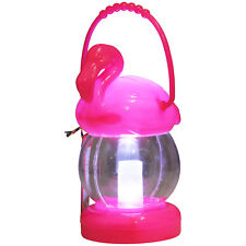 Temerity Jones Plastic Flamingo Aloha Tropical Outdoor Party Lantern Decoration