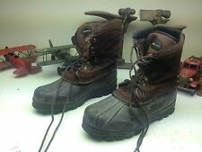 LA CROSSE DISTRESSED ENGINEER DUCK HUNTING TRAIL BOSS OLD WORK BOOTS 12 WW