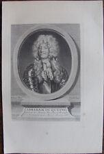 ABRAHAM DU QUESNE GENERAL ARMÉES NAVALES, (1610-1688), PORTRAIT 1760