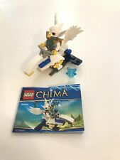 LEGO Set # 30250 LEGEND OF CHIMA Ewar's Acro Fighter 100% COMPLETE