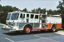 Fire Apparatus Slide, Engine 411, Abingdon / MD, 1988 Hahn