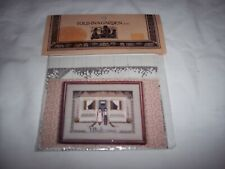 "TOLD IN A GARDEN ~ ""AMISH WELCOME"" ~ Cross Stitch Pattern New"